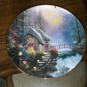 Knowles Thomas Kinkade Collectable Plate